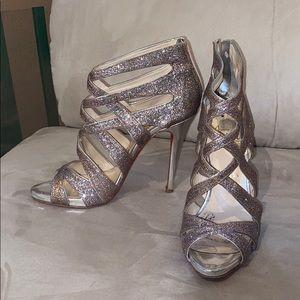 "Christian Louboutin ""Balota"" 120 glitter heels"